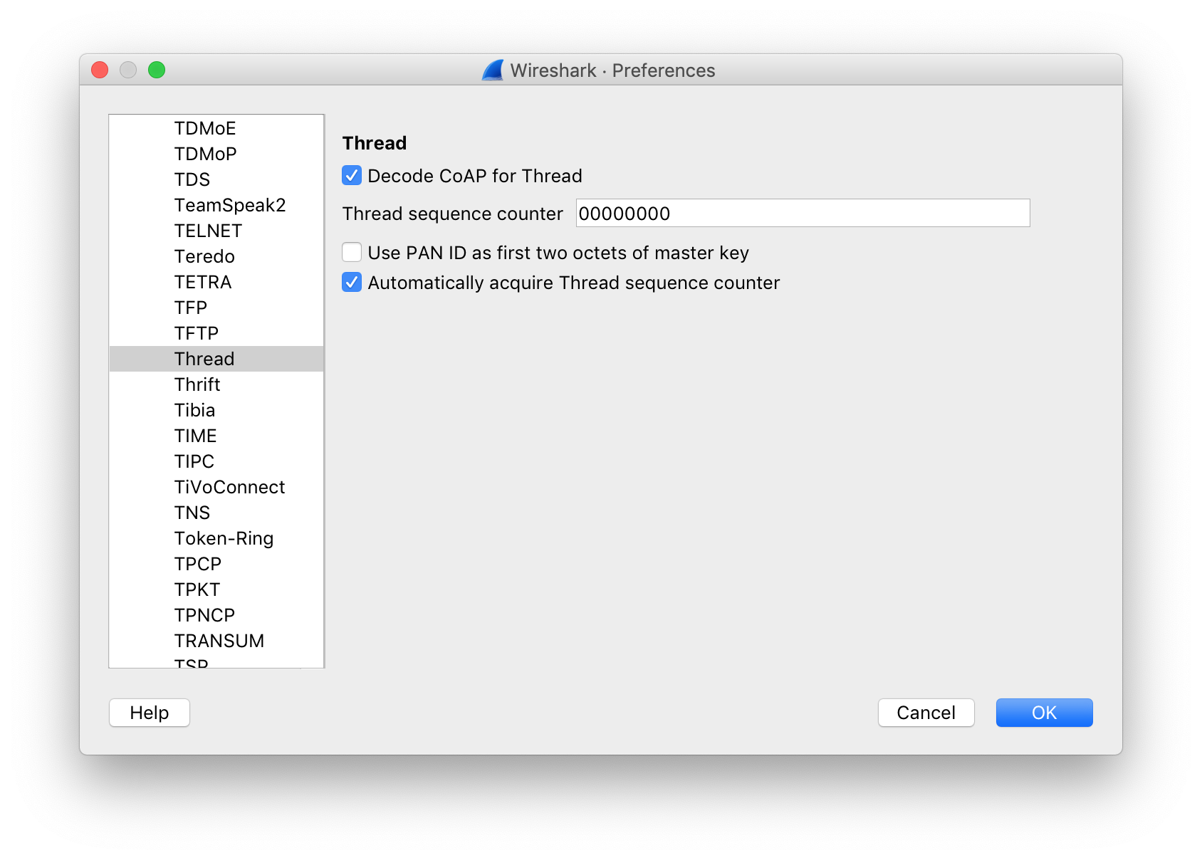Thread Network Sniffer - Grove Mesh Kit Documentation